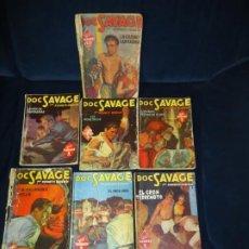 Comics: DOC SAVAGE KENNETH ROBESON ED. MOLINO. 14 EJEMPLARES. AÑOS 40. Lote 226134615