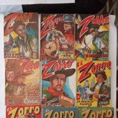 Cómics: EL ZORRO EDITORIAL MATEU 1946 - 1,3,4,5,6,7,8,9,10,11,12,13,15. Lote 226400735