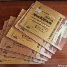 Cómics: LOTE 10 EJEMPLARES HÉROES MODERNOS + TERRY Y LOS PIRATAS. Lote 226793505