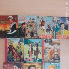 Cómics: PULP OESTE. DOS HOMBRES BUENOS. LOTE DE 10 NOVELAS.. Lote 230078920