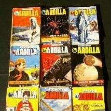 Cómics: COLECCION ARDILLA (AÑOS 50) LOTE 9 NOVELAS PULGA - ED. EDOSA REVISTA JOVENES -LIBRERIA SALESIANA. Lote 230223930