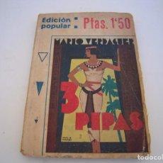 Cómics: 3 PIPAS- MARIO VERDAGUER. Lote 231189965