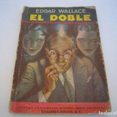 Cómics: EL DOBLE - EDGAR WALLACE. Lote 232353475