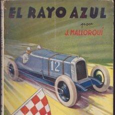 Cómics: NOVELA COLECCION LA NOVELA DEPORTIVA EL RAYO AZUL. Lote 235092970