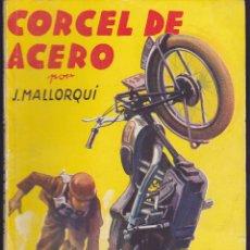 Cómics: NOVELA COLECCION LA NOVELA DEPORTIVA CORCEL DE ACERO. Lote 235093480