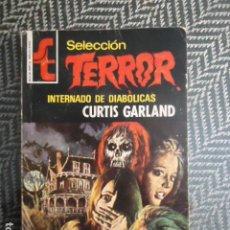 Cómics: SELECCION TERROR Nº 146 INTERNADO DE DIABOLICAS-CURTIS GARLAND- BRUGUERA AÑOS 70/80. Lote 236630990