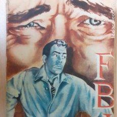 Cómics: FBI Nº 373. TORTURA. TONY WANTON. EDITORIAL ROLLAN AÑOS 50. BUENO. Lote 236980535
