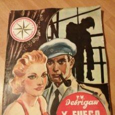 Cómics: P.W. DEBRIGAW - Y FUEGO EN EL CORAZÓN. ( PETER DEBRY) INVENTOS, VIAJES, MISTERIOS, AVENTURAS Nª4. Lote 236992660