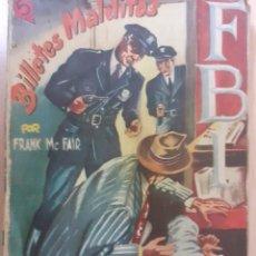 Cómics: FBI Nº 61. BILLETES MALDITOS. FRANK MCFAIR. EDITA ROLLAN AÑOS 50. Lote 237165820