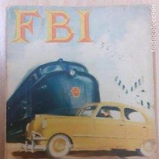Cómics: FBI Nº 174. EL 5º VIAJERO. FRANK MCFAIR. EDITA ROLLAN 1953. Lote 237169195