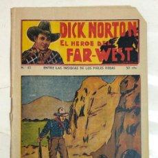 Cómics: DICK NORTON EL HEROE DEL FAR-WEST Nº35 - CONSERVA CROMOS CENTELLA. Lote 237300255