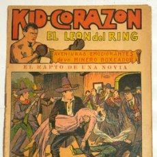 Cómics: KID-CORAZON EL LEON DEL RING Nº9. Lote 237300950