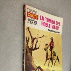 Comics: LA TUMBA DEL ROBLE VIEJO / RALPH BARBY / SALVAJE TEXAS Nº 952 / BRUGUERA. Lote 238775400