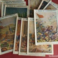 Cómics: LOTE DE 24 -EL GRITO DE INDEPENDENCIA -VER NUMERACION-. Lote 239379225