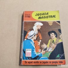 Comics: NOVELA COLECCIÓN KANSAS Nº 198 - JUGADA MAGISTRAL - MARCIAL LAFUENTE ESTEFANÍA - BRUGUERA. Lote 240267605