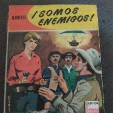 """Comics : NOVELAS DEL OESTE COLECCION KANSAS NÚMERO 125 """"SOMOS ENEMIGOS"""" A. ROLCEST. Lote 241020720"""