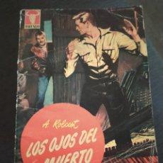 """Comics : NOVELAS DEL OESTE COLECCION BUFALO NÚMERO 184 """"LOS OJOS DEL MUERTO"""" A. ROLCEST. Lote 241040020"""