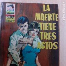 Cómics: COLECCIÓN MANHATTAN EXTRA Nº 21. LA MUERTE TIENE TRES ACTOS. BRONCO MIKE. EDICIONES MANHATTAN 1963. Lote 243046295
