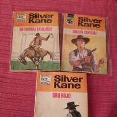 Cómics: SHERIFF ESPECIAL NUM 327,ORO ROJO NUM 3YUN FEDERAL EN NEVADA NUM15 EDIT BRUGUERA SILVERADO KEIN. Lote 243049110