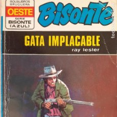 Cómics: BISONTE SERIE AZUL Nº 163. GATA IMPECABLE. RAY LESTER. BRUGUERA 1974. Lote 244424750