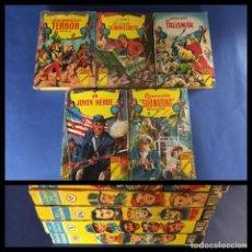 Cómics: LOTE DE 5 LIBROS ILUSTRADOS -EDITORIAL MATEU. Lote 244492190
