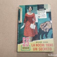 Cómics: NOVELA SS SERVICIO SECRETO Nº 456 - LA NOCHE TIENE UN SECRETO - SILVER KANE - BRUGUERA. Lote 244512765