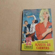 Cómics: NOVELA SS SERVICIO SECRETO Nº 520 - AJUSTE DE CUENTAS - MARK HALLORAN - BRUGUERA. Lote 244513175