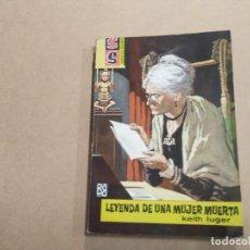 Cómics: NOVELA SS SERVICIO SECRETO Nº 655 - LEYENDA DE UNA MUJER MUERTA - KEITH LUGER - BRUGUERA. Lote 244514800
