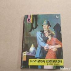 Cómics: NOVELA SS SERVICIO SECRETO Nº 685 - SEIS TESTIGOS SENTENCIADOS - PETER DEBRY - BRUGUERA. Lote 244515170
