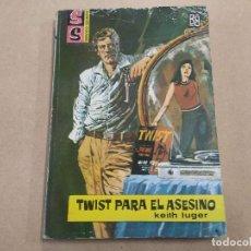 Cómics: NOVELA SS SERVICIO SECRETO Nº 693 - TWIST PARA EL ASESINO - KEITH LUGER - BRUGUERA. Lote 244516425