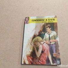 Cómics: NOVELA SS SERVICIO SECRETO Nº 766 - CONDENADO A VIVIR - PETER DEBRY - BRUGUERA. Lote 244517350