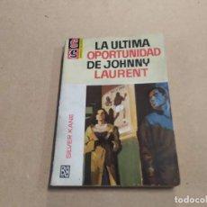 Cómics: NOVELA SS SERVICIO SECRETO Nº 879 - LA ÚLTIMA OPORTUNIDAD DE JOHNNY LAURENT - SILVER KANE - BRUGUERA. Lote 244518945