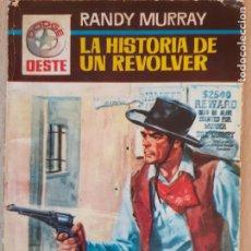 Cómics: DODGE OESTE Nº 43. LA HISTORIA DE UN REVÓLVER. RANDY MURRAY. FERMA 1965. Lote 244590245