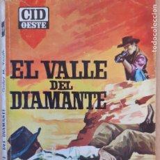 Cómics: CID OESTE Nº 18. EL VALLE DEL DIAMANTE. GABY M. YOUTH. CID 1964. Lote 244590670
