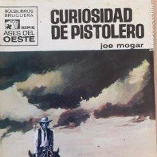 Comics: ASES DEL OESTE Nº 619.CURIOSIDAD DE PISTOLERO. JOE MOGAR. BRUGUERA 1971. BUENO. Lote 244725960