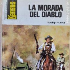 Comics: KANSAS Nº 891. LA MORADA DEL DIABLO. LUCKY MARTHY. BRUGUERA 1975. BUENO. Lote 244729485