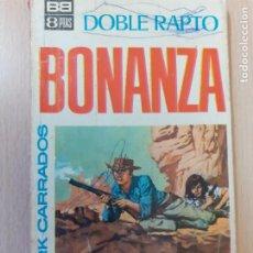 Comics: BONANZA Nº 1. DOBLE RAPTO. CLARK CARRADOS. BRUGUERA 1966. Lote 244916990