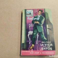 Cómics: NOVELA DE OLD JEEP & MARCASSIN Nº 9 - LA VIEJA DE LOS GATOS - MARCEL PRIOLLET - MOLINO. Lote 245073605