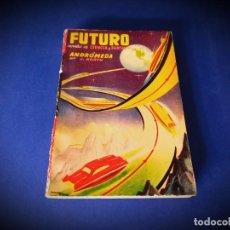 Cómics: FUTURO Nº 16 NOVELA DE CIENCIA Y FANTASÍA -EDICIONES FUTURO-. Lote 245165125