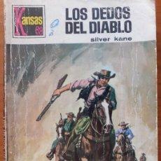 Cómics: KANSAS Nº 602. LOS DEDOS DEL DIABLO. SILVER KANE. BRUGUERA 1969. Lote 245715795