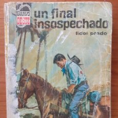 Cómics: BRAVO OESTE Nº 252. UN FINAL INSOSPECHADO. FIDEL PRADO. BRUGUERA 1965. Lote 245961810