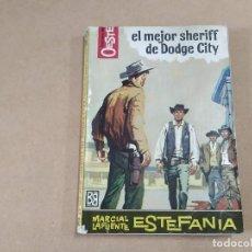 Comics: NOVELA HÉROES DEL OESTE Nº 200 - EL MEJOR SHERIFF DE DODGE CITY - M. LAFUENTE ESTEFANÍA - BRUGUERA. Lote 246710350