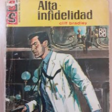 Cómics: SERVICIO SECRETO Nº 833. ALTA INFIDELIDAD. CLIFF BRADLEY. BRUGUERA 1971. Lote 247373150