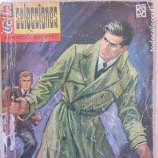 Cómics: SELECCIONES SERVICIO SECRETO Nº 55.LA GUERRA EMPIEZA ESTA NOCHE. SILVER KANE. BRUGUERA 1963. Lote 247373695
