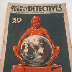 Cómics: AVENTURAS Y DETECTIVES. COLECCION 16 EJEMP. (FALTAN 3). AÑO 1936. Lote 248773585