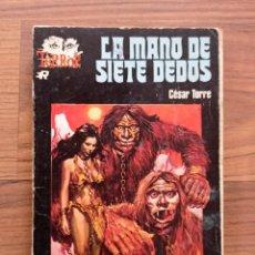 Fumetti: ROLLAN TERROR Nº 53-LA MANO DE SIETE DEDOS (CESAR TORRE) NOVELAS-BOLSILIBROS-PULP. Lote 252858610