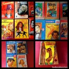Cómics: LOTE DE 17 NOVELAS -EDITORIAL MOLINO. Lote 252978195