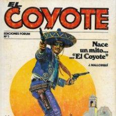 Cómics: EL COYOTE. FORUM 1983. LOTE DEL 1 AL 71 (SALVO 31, 32 Y 33). Lote 253430820