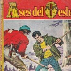 Fumetti: COLECCIÓN ASES DEL OESTE - 99 - SIERRA TURBULENTA - BOLSILIBROS BRUGUERA AÑOS 60. Lote 254362185