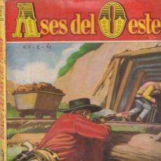 Fumetti: COLECCIÓN ASES DEL OESTE - 93 - DONDE LAS DAN LAS TOMAN - BOLSILIBROS BRUGUERA AÑOS 60. Lote 254363550
